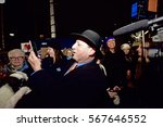 Small photo of NEW YORK CITY - JANUARY 28 2017: Thousands of activists joined NYC council members to protest the detention of travelers with entry visas at JFK airport. NYCC Brad Lander