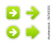 Green Arrow Sign Web 2.0...