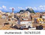 View Of The Corfu Town  Corfu...