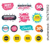 sale shopping banners. special... | Shutterstock .eps vector #567675052