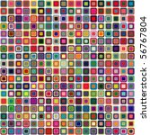 abstract geometric vector... | Shutterstock .eps vector #56767804