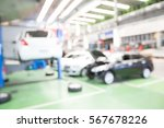 blurred background of car... | Shutterstock . vector #567678226