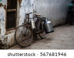 Old Indian Bicycle In The...