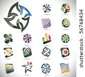 vector design elements. set 24. | Shutterstock .eps vector #56768434