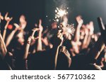 the lights on the concert in... | Shutterstock . vector #567710362