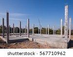the beginning of home...   Shutterstock . vector #567710962