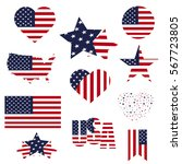 Symbols United States Framed I...