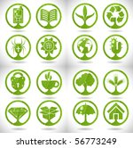 eco signs | Shutterstock .eps vector #56773249