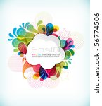 eps10 vector design | Shutterstock .eps vector #56774506