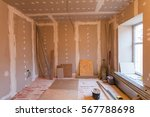 material for repairs in an... | Shutterstock . vector #567788698