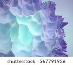 3d organic abstract colorful... | Shutterstock . vector #567791926