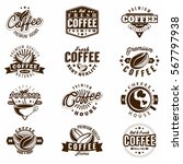 premium coffee and coffee house ... | Shutterstock .eps vector #567797938