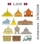 Laos Landmarks And Culture...