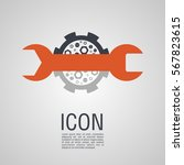 vector icons in the form of a...