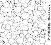 chemistry pattern  polygonal... | Shutterstock .eps vector #567834172