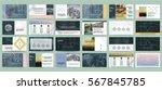 original presentation templates ... | Shutterstock .eps vector #567845785