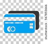 bank cards icon. vector...