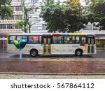 public transport in rio de... | Shutterstock . vector #567864112