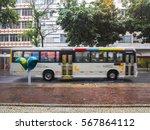 public transport in rio de... | Shutterstock . vector #567864112