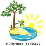 amber coast | Shutterstock .eps vector #56786629