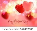 valentine. valentines day.... | Shutterstock .eps vector #567869806