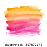 Warm Yellow To Pink Gradient...