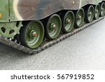 The Caterpillar Track Of A...