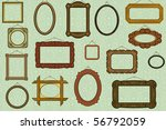 background with old fashioned... | Shutterstock .eps vector #56792059