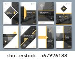 abstract binder layout. white... | Shutterstock .eps vector #567926188