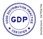 grunge blue gdp  good... | Shutterstock .eps vector #567956746