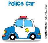 collection stock of police car...