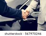 business men agreement deal... | Shutterstock . vector #567970246