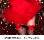 Sexy Burlesque Dancer With A...