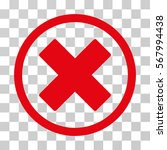 delete x cross rounded icon.... | Shutterstock .eps vector #567994438