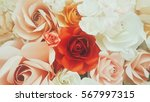 Stock photo rose backgrounds for valentine day assorted roses 567997315