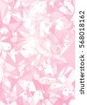 pink break mosaic background ... | Shutterstock .eps vector #568018162