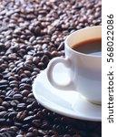 coffee beans background   Shutterstock . vector #568022086