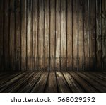 Old Wooden Interior  Grunge...