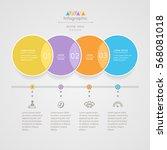 infographics design template... | Shutterstock .eps vector #568081018