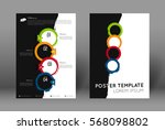 abstract poster design template ...