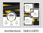 abstract vector layout... | Shutterstock .eps vector #568111855