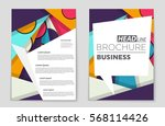 abstract vector layout...   Shutterstock .eps vector #568114426
