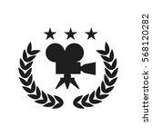 film award for the best film in ... | Shutterstock .eps vector #568120282