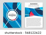 abstract vector layout... | Shutterstock .eps vector #568122622