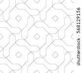 seamless geometric pattern.... | Shutterstock .eps vector #568129156