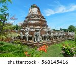 archaeological site in historic ...   Shutterstock . vector #568145416
