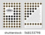abstract vector layout... | Shutterstock .eps vector #568153798