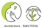 pregnancy. symbolic image. signs   Shutterstock .eps vector #568170526