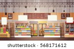 big shop super market shopping... | Shutterstock .eps vector #568171612