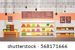big shop super market shopping... | Shutterstock .eps vector #568171666